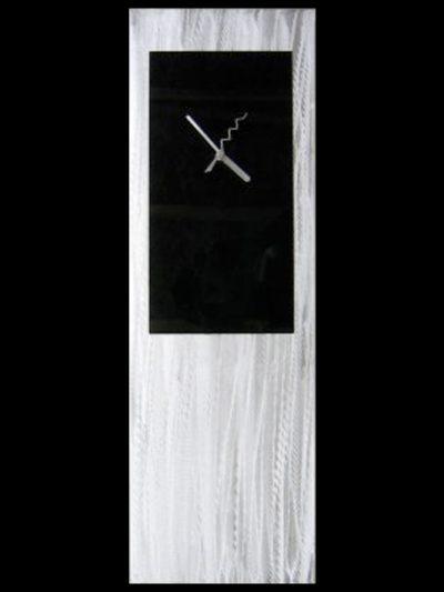 Black Metal Clock - Nicholas Yust Fine Metal Art