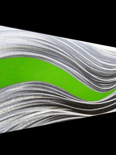Conduction Green - Nicholas Yust Fine Metal Art
