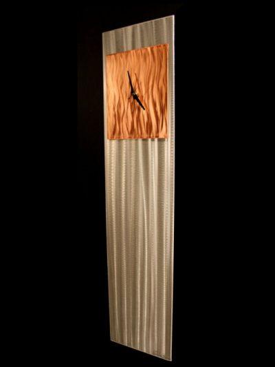 Copper Vibe Clock - Nicholas Yust Fine Metal Art