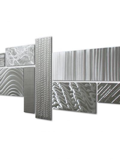 Crystallized Grid - Nicholas Yust Fine Metal Art