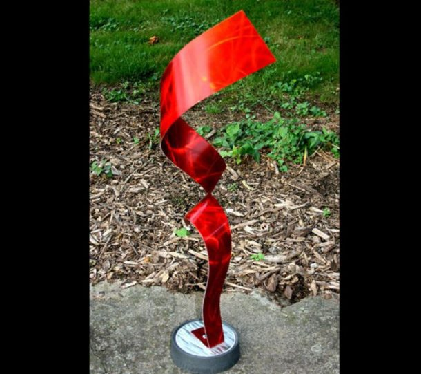 Divided Red - our artisans Fine Metal Art