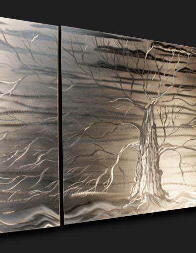 Docile Darkness - Nicholas Yust Fine Metal Art