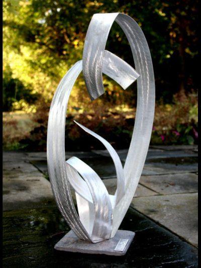 Embracing Beings - Nicholas Yust Fine Metal Art
