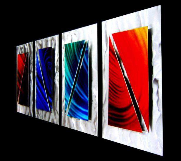 Quantum Movement - our artisan Fine Metal Art