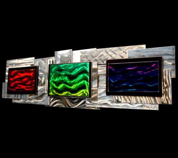 Spectral Absorption - our artisan Fine Metal Art
