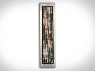 Abstract Birch - our artisans Fine Metal Art