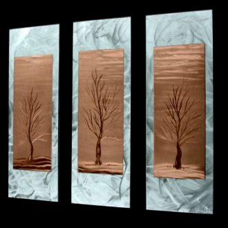 Barren Season - our artisan Fine Metal Art