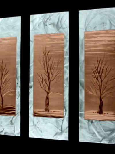 Barren Season - Nicholas Yust Fine Metal Art
