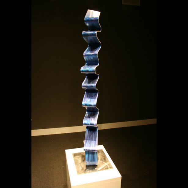 Blue Accordion - our artisan Fine Metal Art