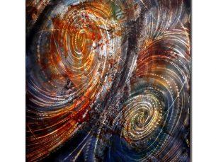 Converging Tides - our artisan Fine Metal Art
