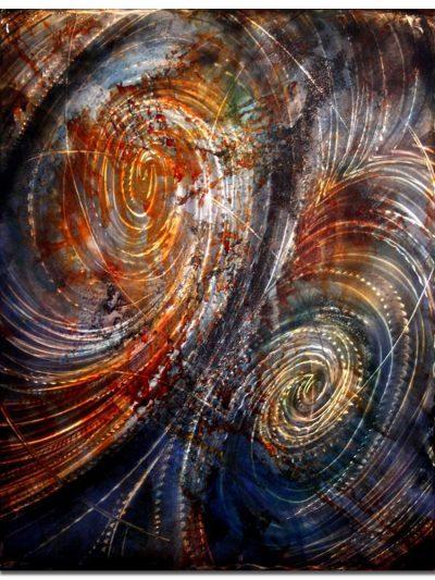 Converging Tides - Nicholas Yust Fine Metal Art