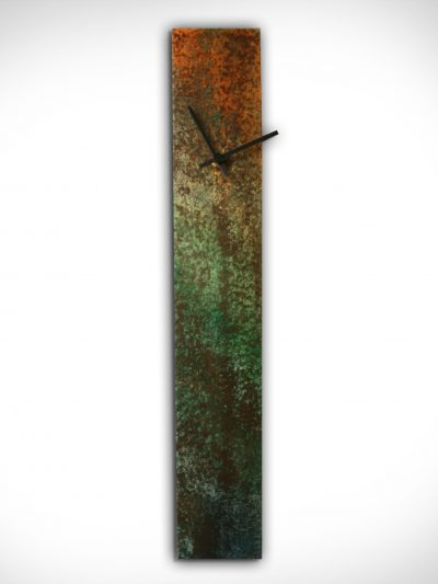 Corrosion Colored Clock - Nicholas Yust Fine Metal Art