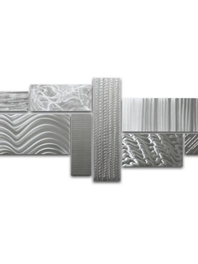 Crystallized Grid - Large - Nicholas Yust Fine Metal Art