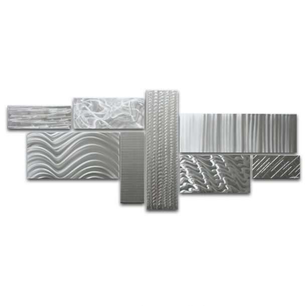 Crystallized Grid - Large - our artisans Fine Metal Art