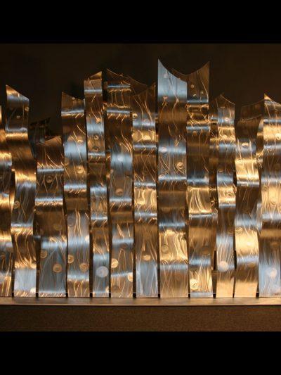 Dancing Silvers - Nicholas Yust Fine Metal Art