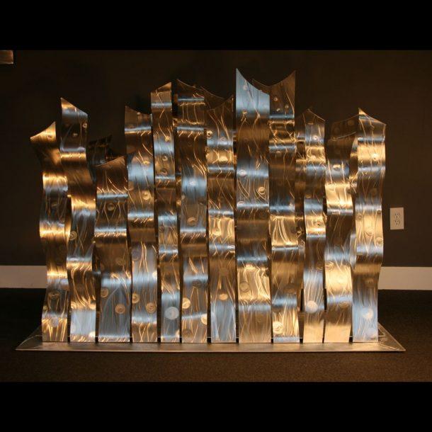 Dancing Silvers - our artisans Fine Metal Art