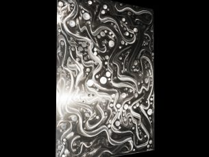 Entrapped Particles - our artisans Fine Metal Art