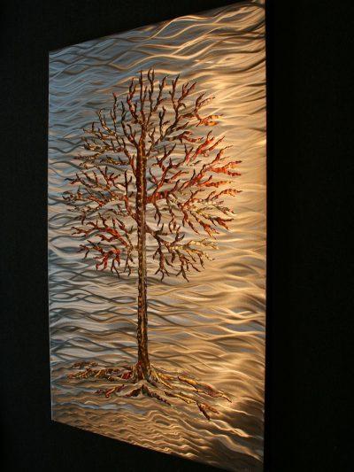 Fire Lake - Nicholas Yust Fine Metal Art