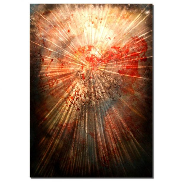 Hyper Expansion - our artisan Fine Metal Art