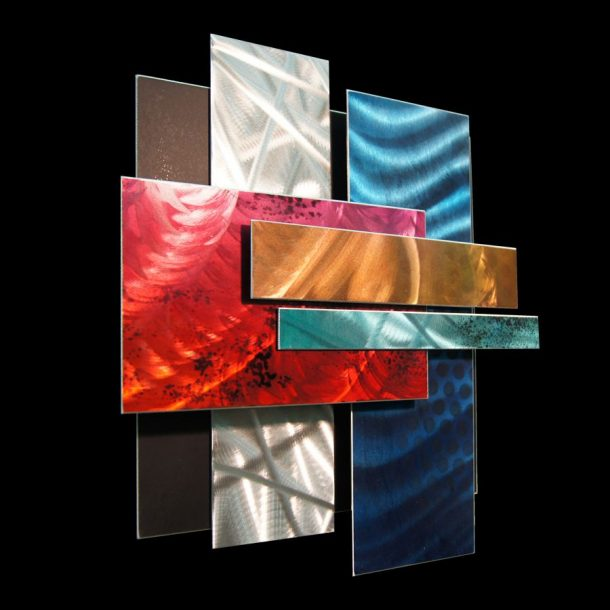 Ice Spectrum 1 - our artisans Fine Metal Art