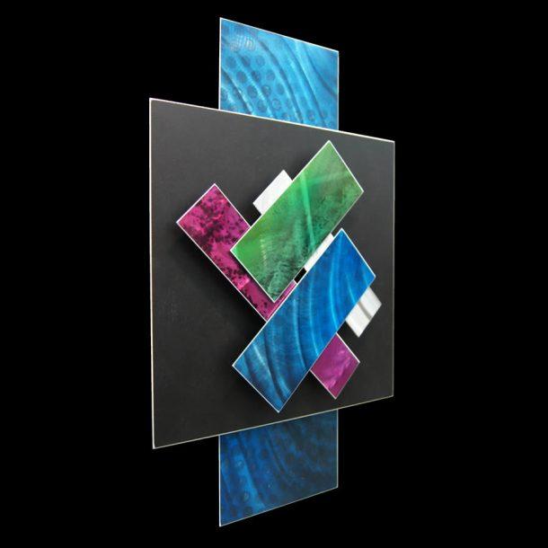 Ice Spectrum 4 - our artisans Fine Metal Art