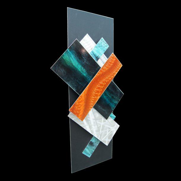 Ice Spectrum 5 - our artisans Fine Metal Art