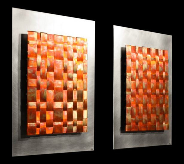 Infusion Double - our artisan Fine Metal Art