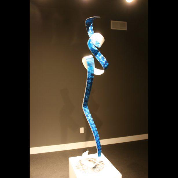 La Blue Ballet - our artisan Fine Metal Art