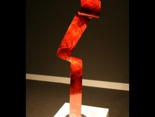 Lazy Red - our artisans Fine Metal Art