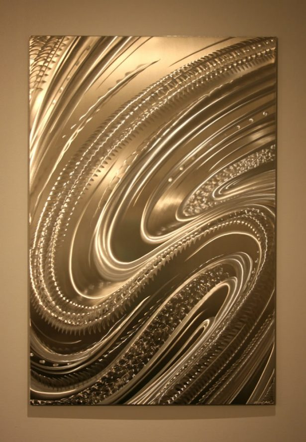 Le Man - our artisan Fine Metal Art