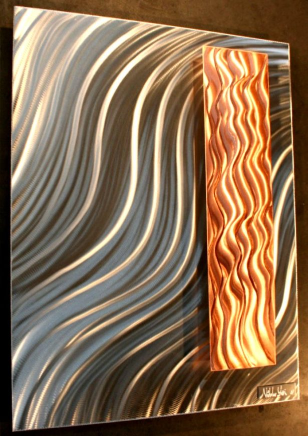 Majestic Valancy - our artisan Fine Metal Art