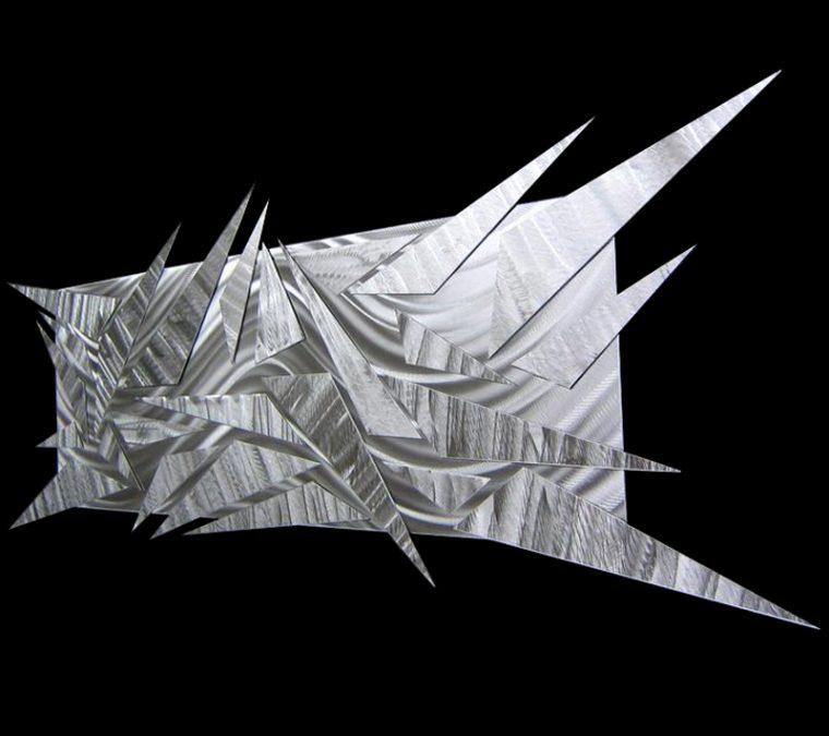 Shifting Ice - Nicholas Yust Fine Metal Art