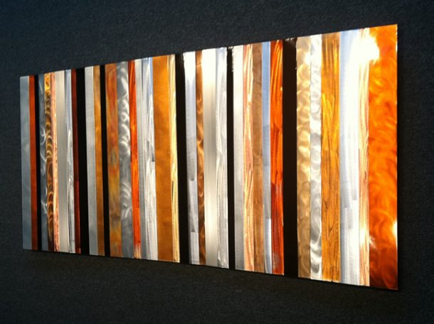 Striations - our artisans Fine Metal Art