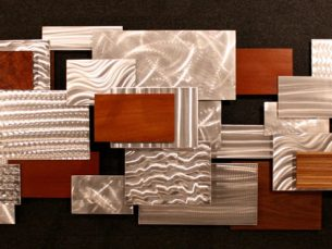 Urban Thicket - our artisan Fine Metal Art