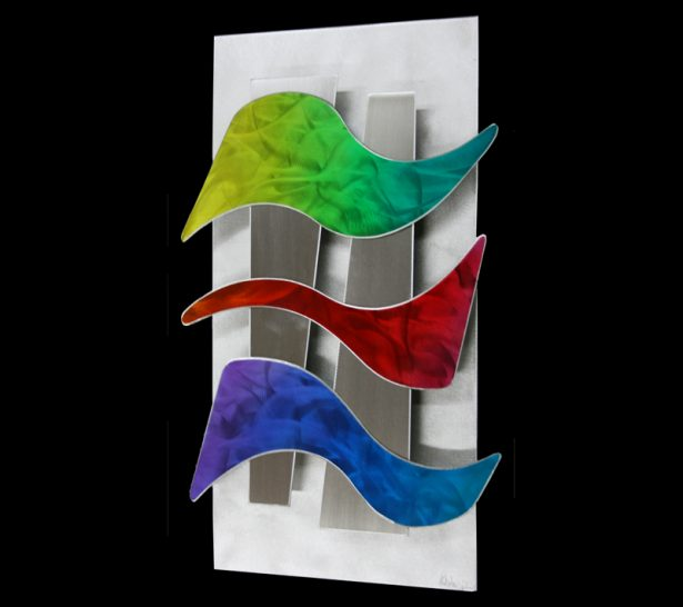 Wavelengths - our artisan Fine Metal Art