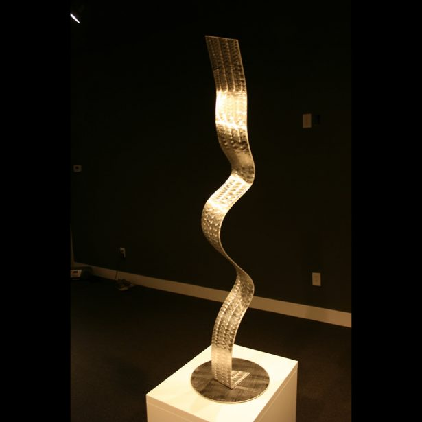 Winding Road - our artisan Fine Metal Art