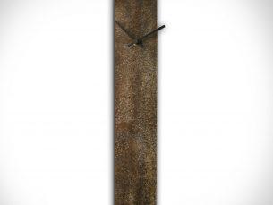 Corrosion Brown Clock - our artisans Fine Metal Art