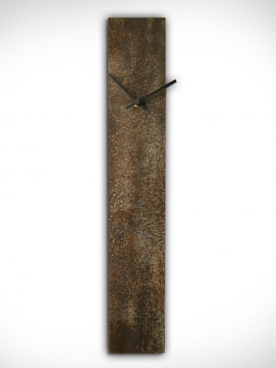 Corrosion Brown Clock - Nicholas Yust Fine Metal Art
