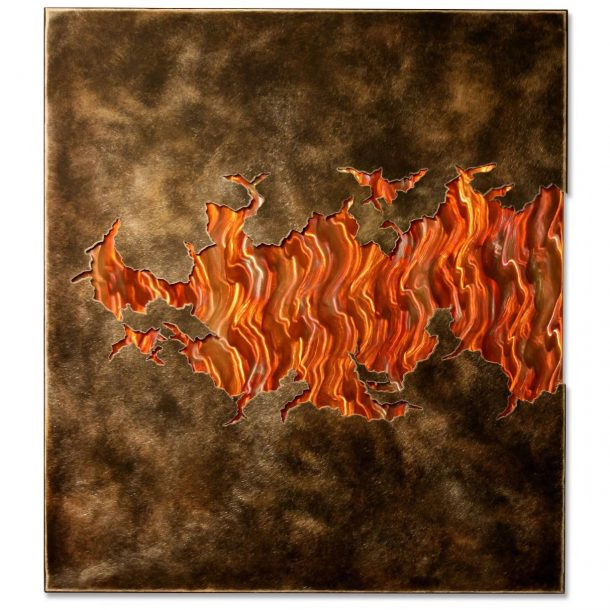 Fire Within V3 - our artisans Fine Metal Art