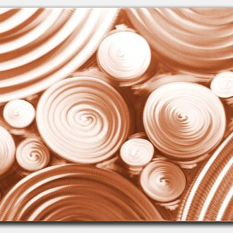 Interdiffusion Copper - our artisan Fine Metal Art