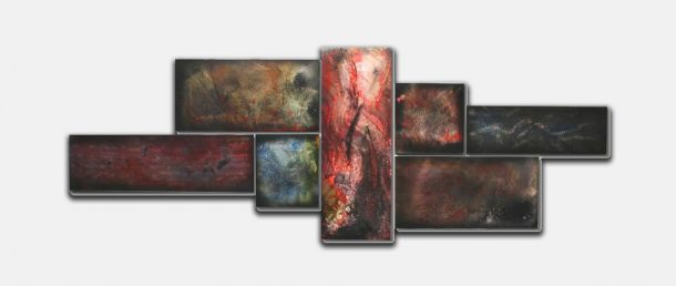 Spectral Corrosion - our artisans Fine Metal Art